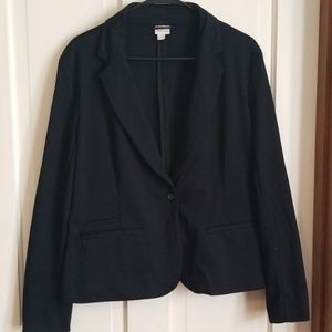 Merona black blazer xl